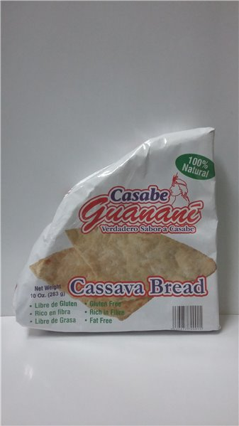 CASABE NATURAL GUANANE 283 GR