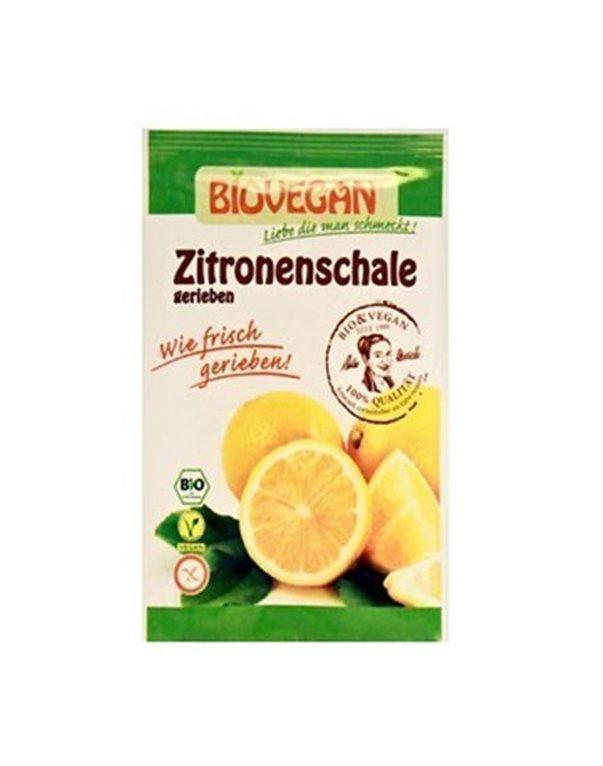 Cáscara de limón bio, 10 gr