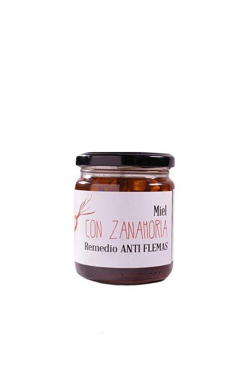 Miel con ZANAHORIA ecológica, 1 ud