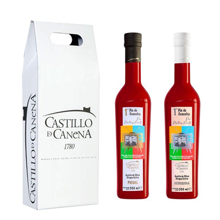 Castillo de Canena - Estuche Cartón Primer Día - 2 Botellas 500 ml