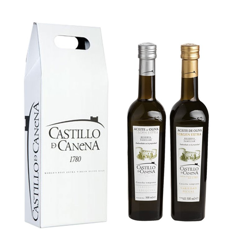 Castillo de Canena - Estuche Cartón Reserva Familiar - 2 Botellas 500 ml