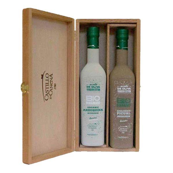 Castillo de Canena - Estuche Roble Biodinámico - 2 Botellas 500 ml