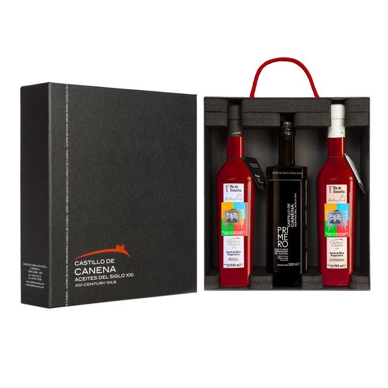 Castillo de Canena - Primer Día y Primero - 3 Botellas 500 ml