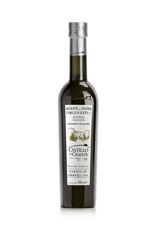 Castillo de Canena Reserva Familiar. Arbequina. 500 ml.