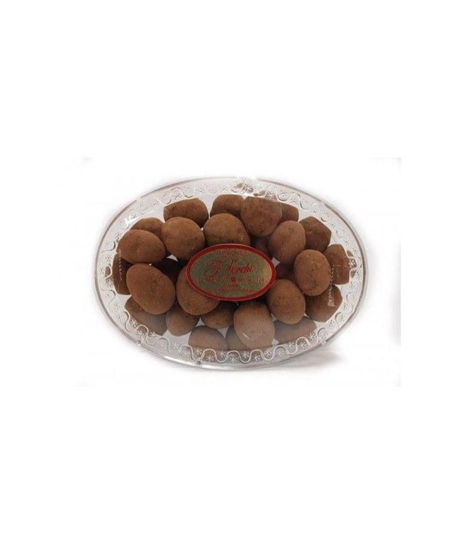 Catanias (almendras caramelizas al cacao)