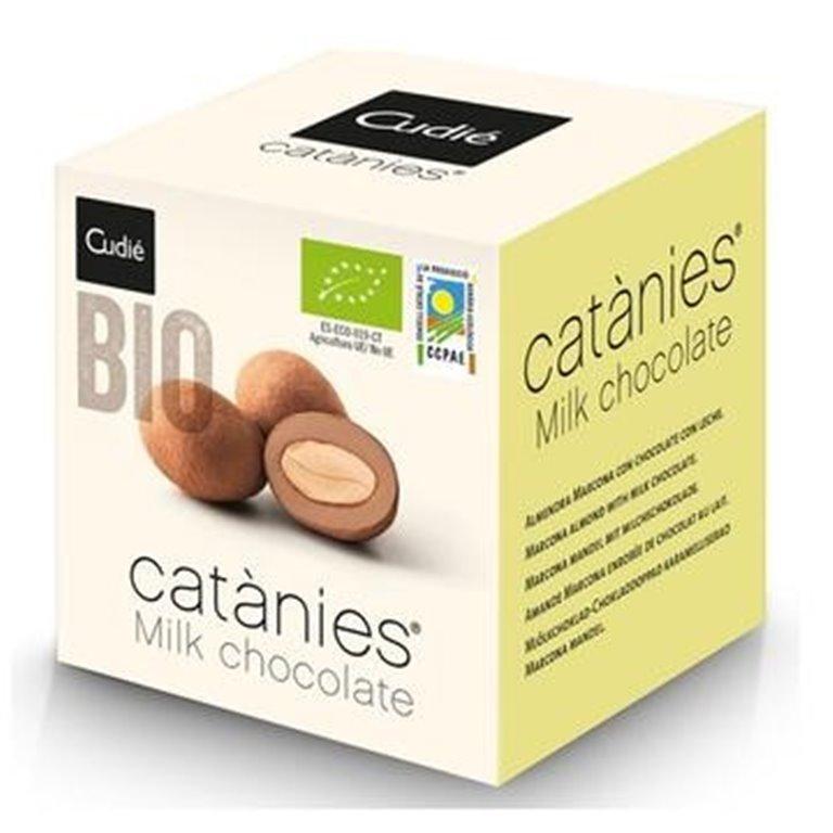 Catanias de Chocolate con Leche Bio 80g