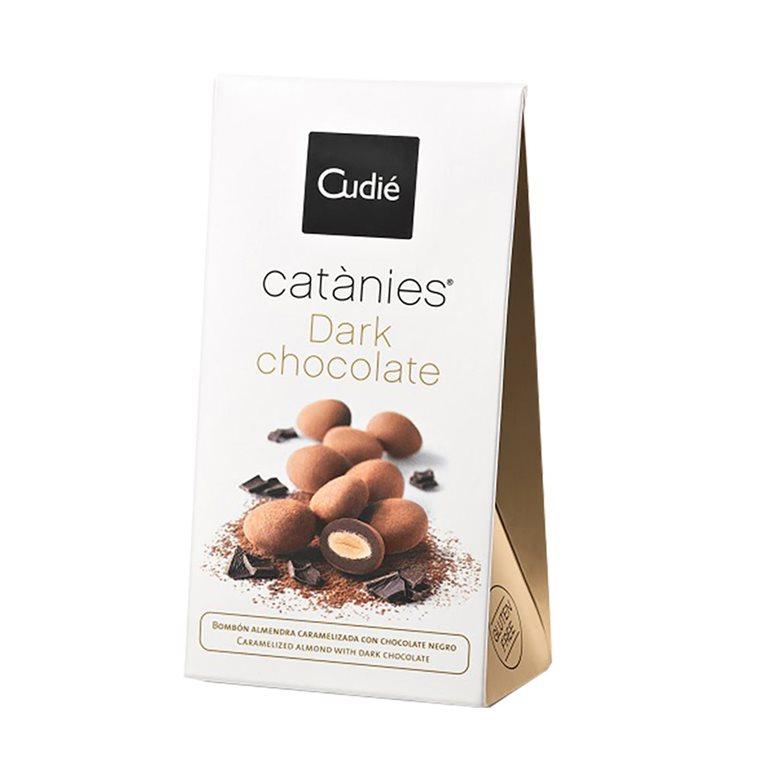 Catanias de Chocolate Negro Sin Gluten 80g