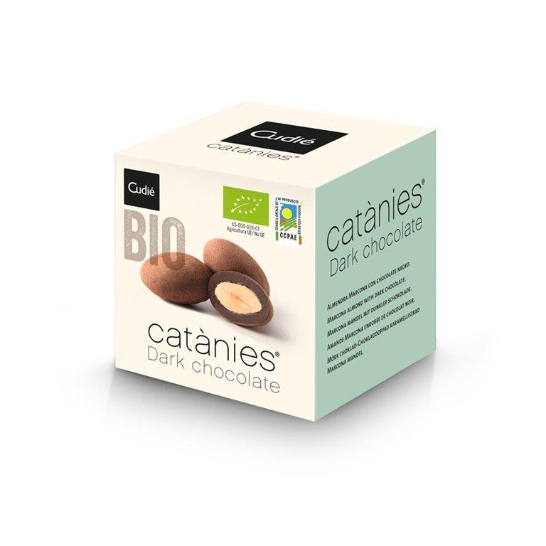 Catanias de Chocolate Negro Sin Gluten Bio 80g