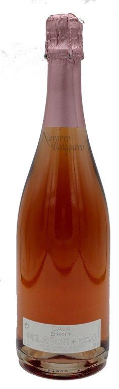 Cava Delabor Brut Rosé 75cl.