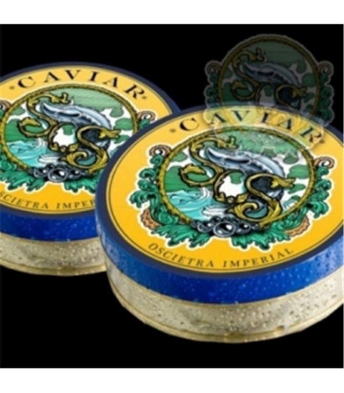 Caviar Asetra Imperial 100gr. Sos. 1un.