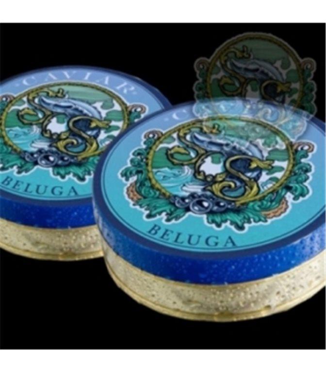 Caviar Beluga 000, 100gr. Sos. 1un.