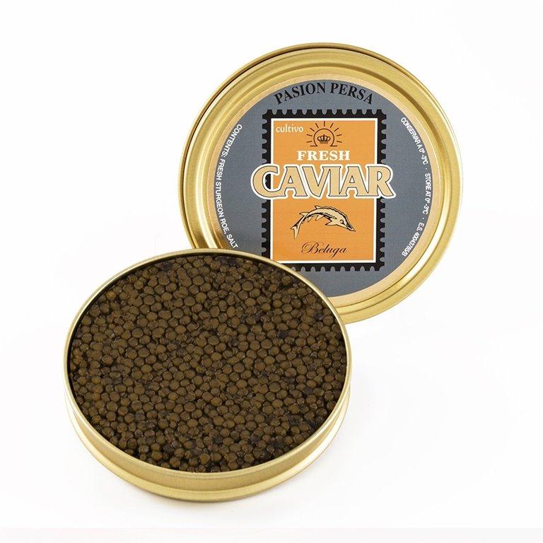 Caviar Beluga 200gr. Marine Food. 1un., 1 ud