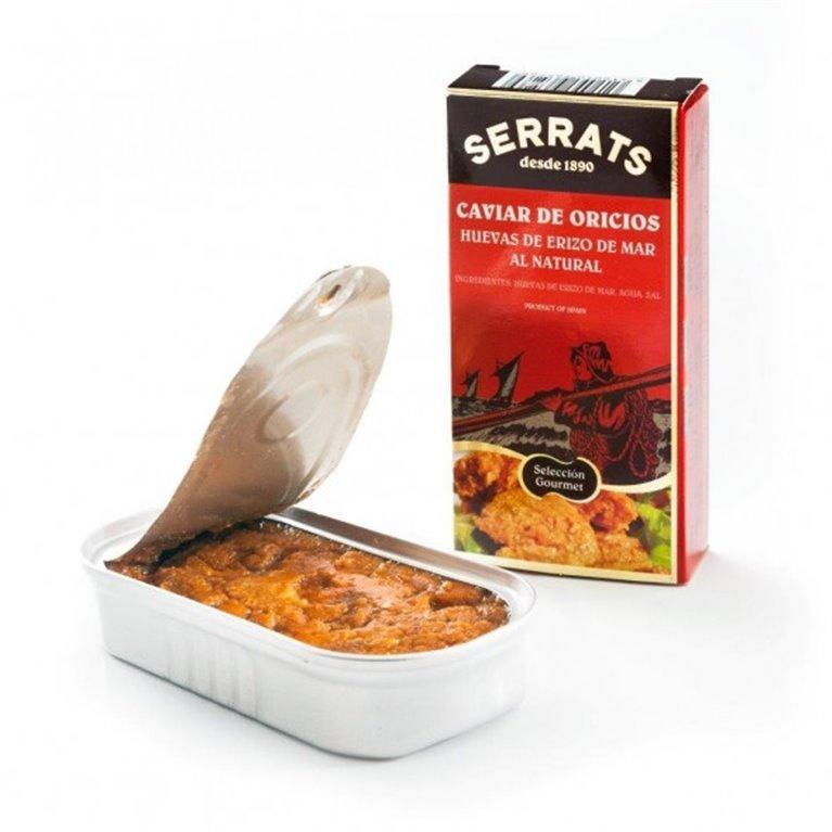 Caviar de Erizo Serrats 50 gr., 1 ud