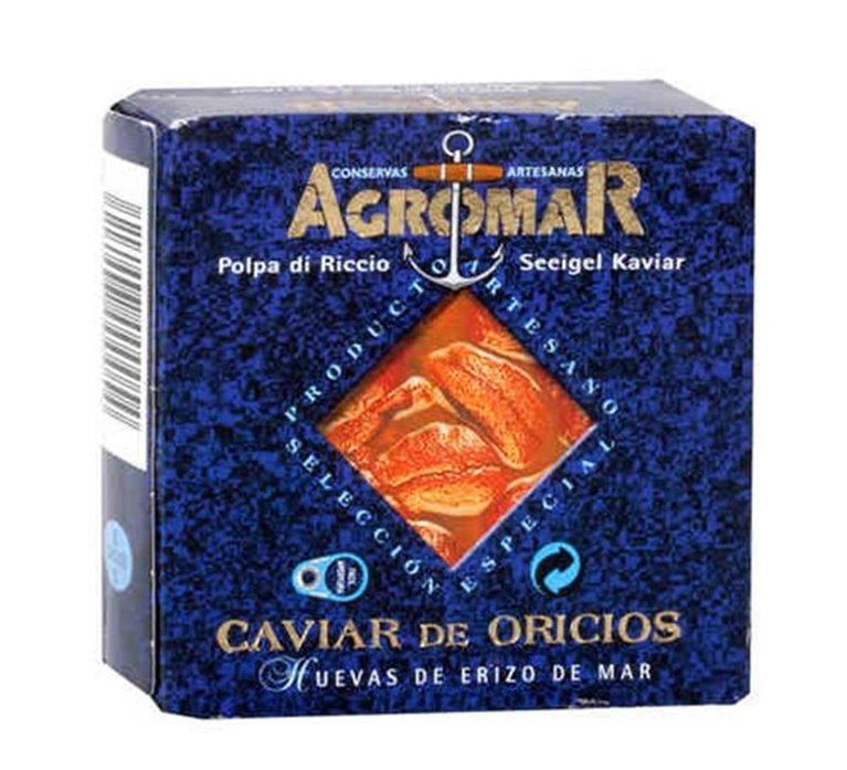 Caviar de Oricios Agromar 68 gr.