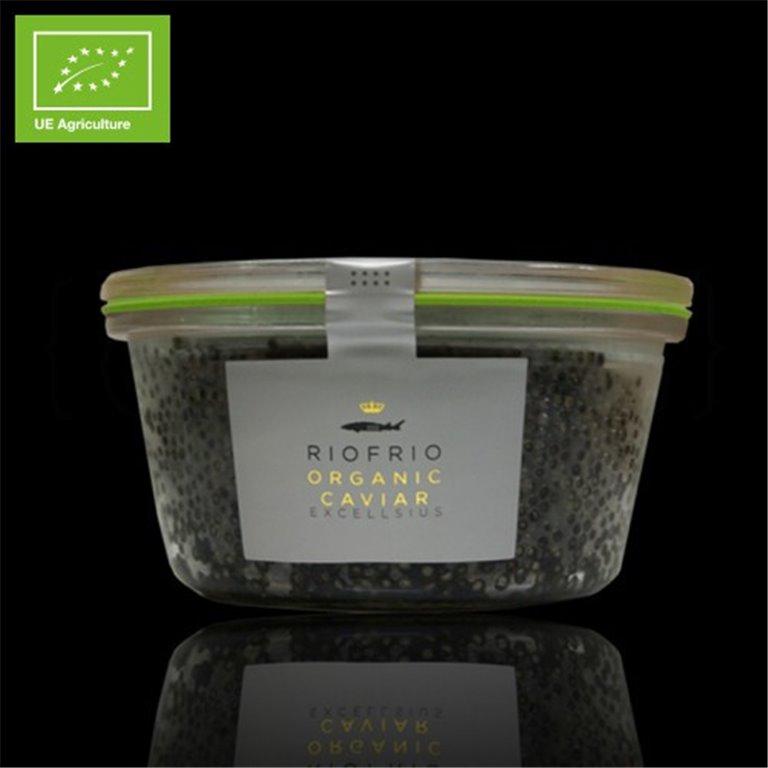 Caviar de Riofrío Ecológico Excellsius 200gr. Riofrío. 1un., 1 ud