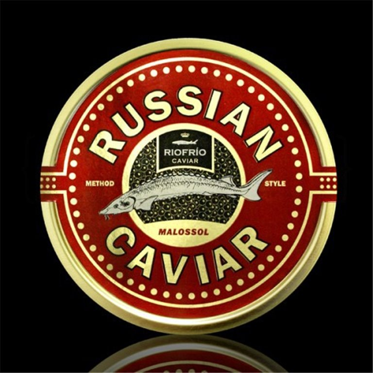 Caviar de Riofrío Russian Style Clásico 100gr. Riofrío. 1un., 1 ud