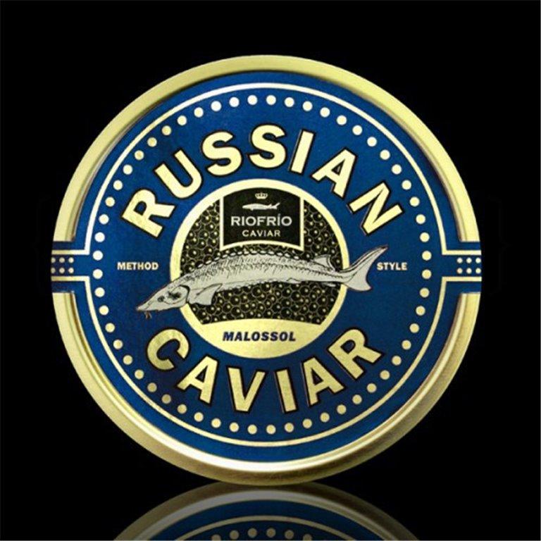 Caviar de Riofrío Russian Style Excellsius 50gr. Riofrío. 1un., 1 ud