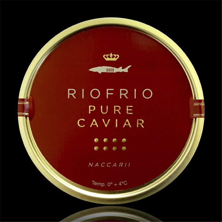 Caviar de Riofrío Tradicional Clásico 500gr. Riofrío. 1un., 1 ud