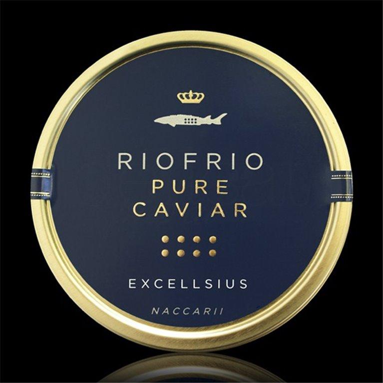 Caviar de Riofrío Tradicional Excellsius 200gr. Riofrío. 1un., 1 ud