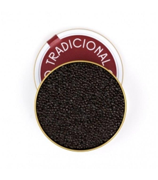 Caviar de Riofrío Tradicional Osetra Clásico 200gr. Riofrío. 1un.