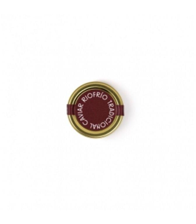 Caviar de Riofrío Tradicional Osetra Clásico 30gr. Riofrío. 1un.