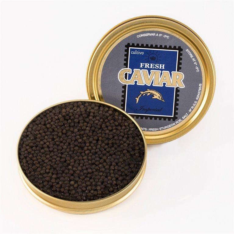 Caviar Imperial 30gr. Marine Food. 1un., 1 ud