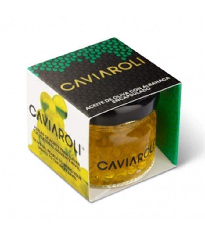 Caviaroli de Albahaca 20gr. Caviaroli. 18un.