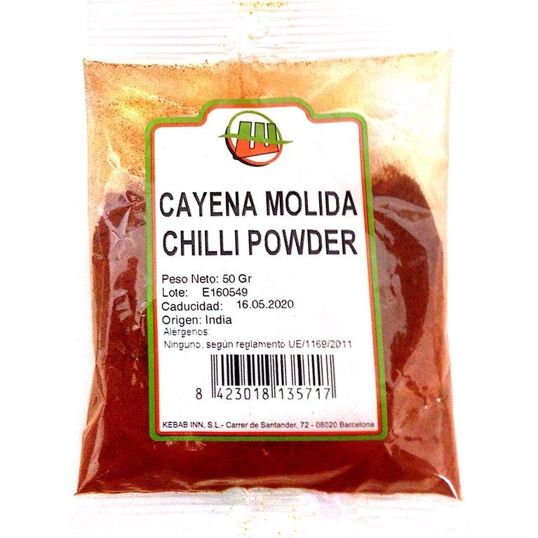 Cayena Molida (Chilli) 50g