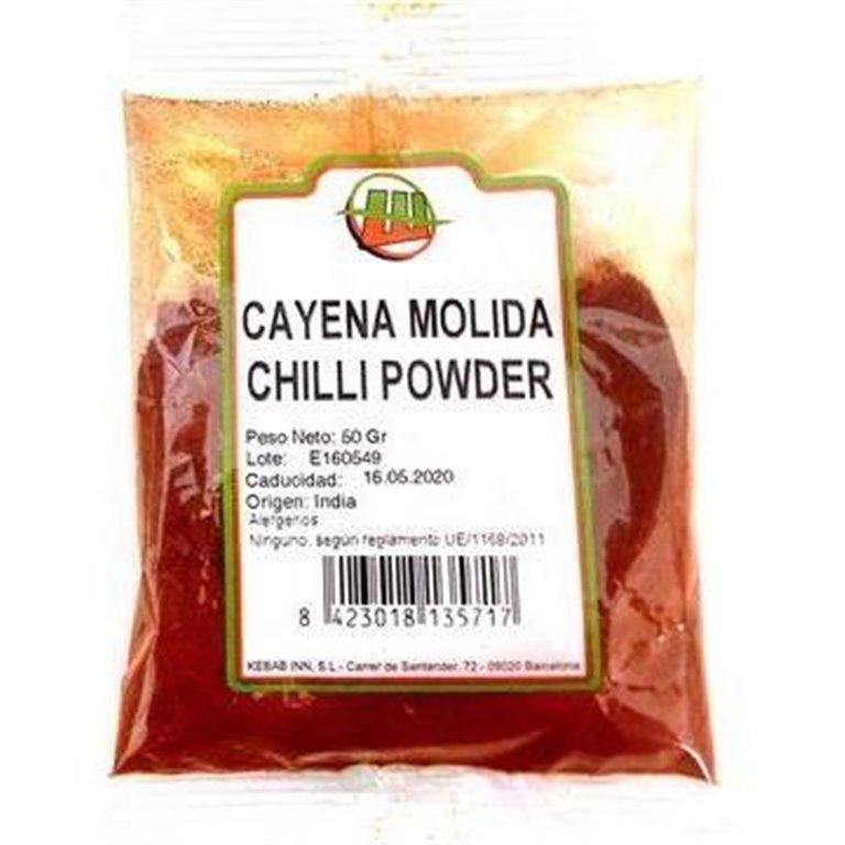 Cayena Molida (Chilli) 750g, 1 ud