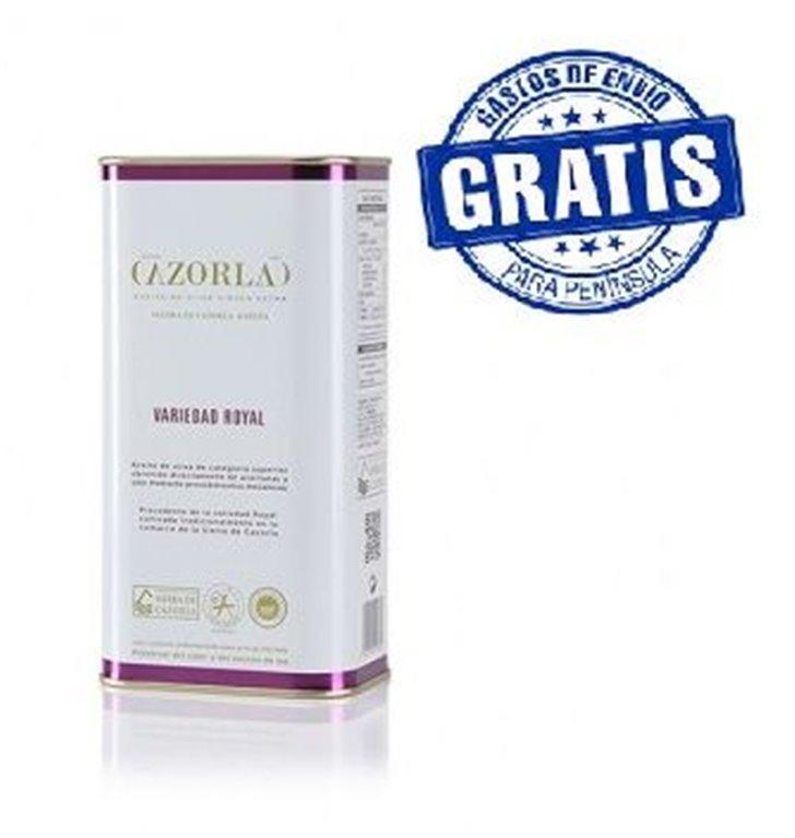 Cazorla. Aceitede oliva royal. 15 latas de 1 litro, 1 ud