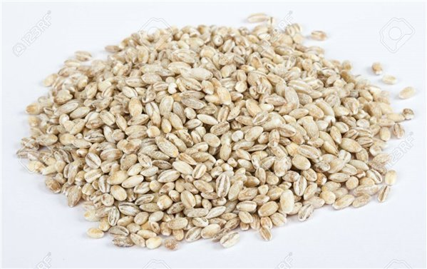 Cebada integral pelada en grano