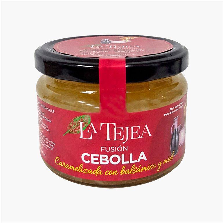 Cebolla caramelizada, balsámico y miel 270 g La Tejea
