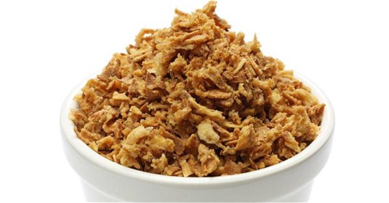 Cebolla frita crujiente - caja de 100 gr, 1 ud