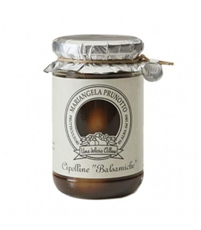 Cebollas en aceto balsámico de Módena 300gr. Mariangela Prunotto. 6un.