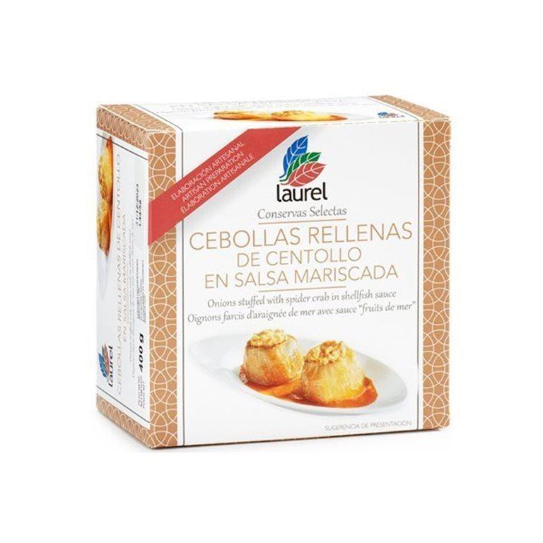 Cebollas rellenas de Centollo, 470 gr