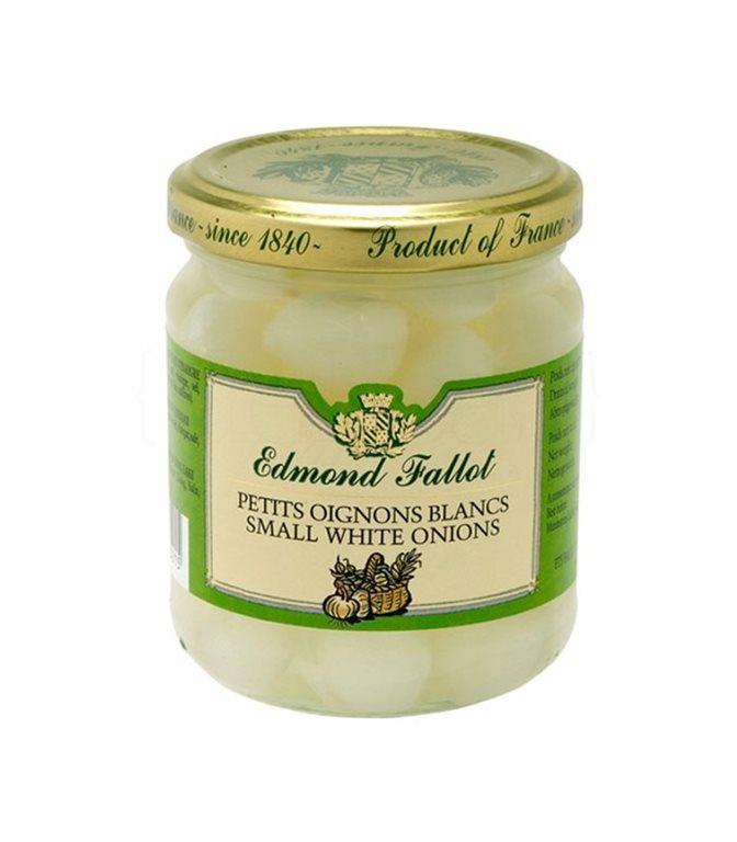 Cebolletas blancas 120gr. Edmond Fallot. 12un.