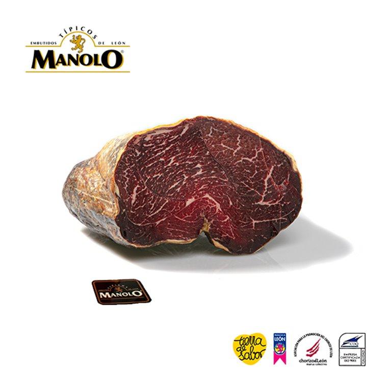 Cecina de León carne de vaca curada