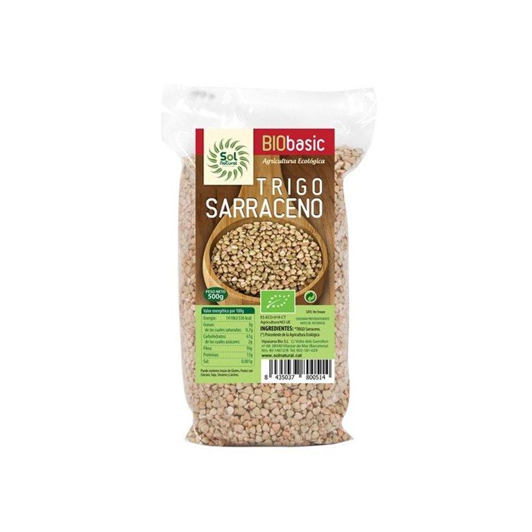 Cereal trigo sarraceno en grano 500g solnatural