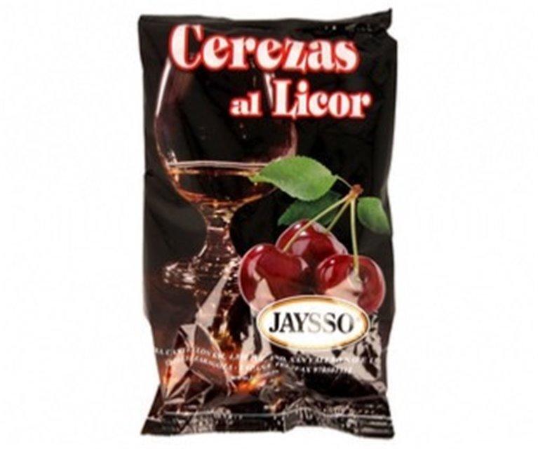 Cerezas al licor Jaysso bolsa 250gr, 1 ud