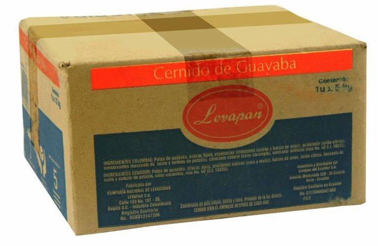CERNIDO DE GUAYABA LEVAPAN X 5 KLILOS