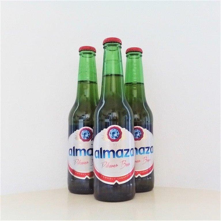 Cerveza Almaza 33cl caja de 24 unidades, 1 ud