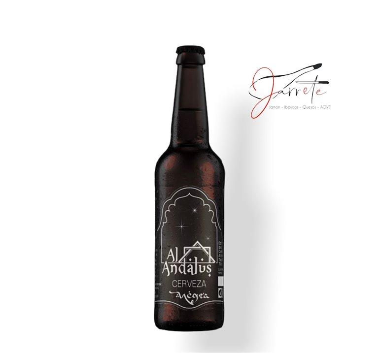 Cerveza Artesana Al-Andalus Negra