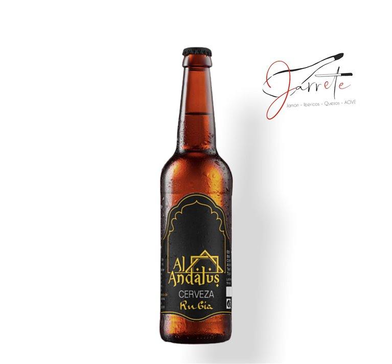 Cerveza Artesana Al-Andalus Rubia