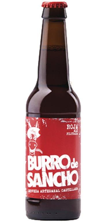 Cerveza Artesana Burro de Sancho Roja