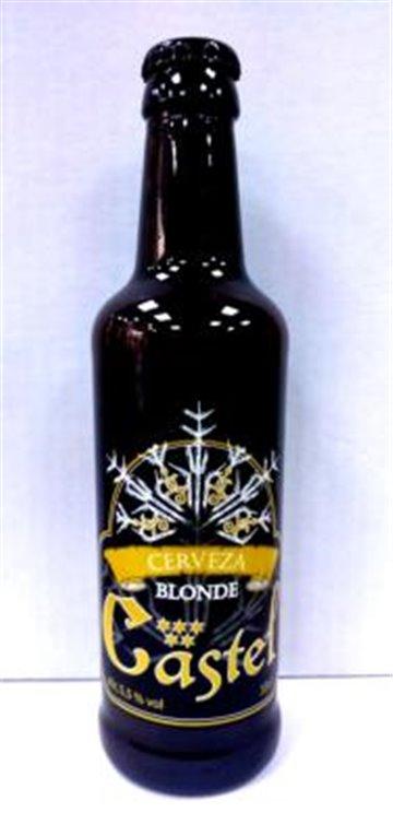 Cerveza Artesana Castel Blonde 33cl, 1 ud