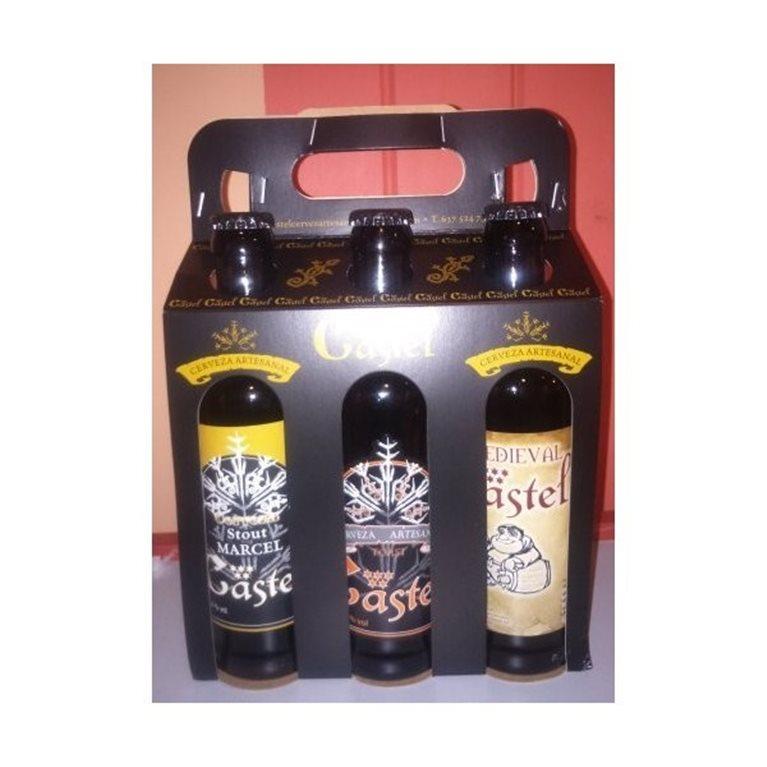 Cerveza Artesana Castel Pack 6, 1 ud