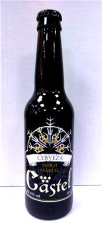 Cerveza Artesana Castel Stout 33cl, 1 ud