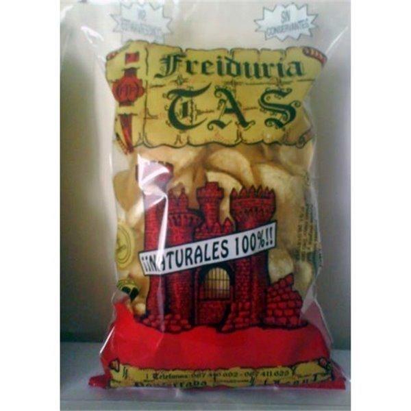 Patatas fritas TAS Natural. 10 Bolsas de 180 gr