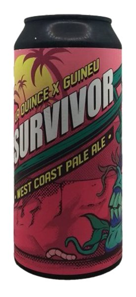 'Cerveza Artesana La Quince Survivor Gluten Free