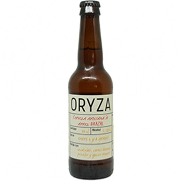 Cerveza artesana Oryza Brazal, 1 ud